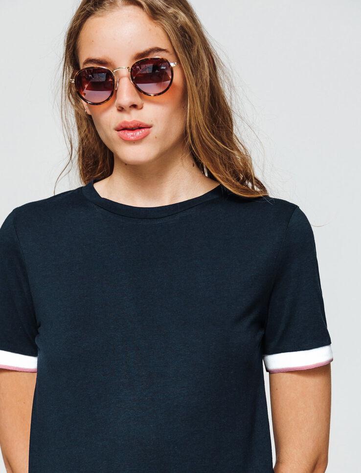 T-shirt fluide avec détails manches