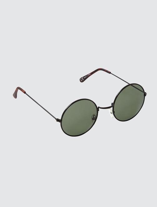Lunettes de Soleil Rondes Vintage homme