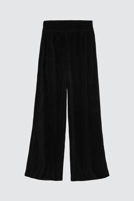 Pantalon Plissé Large Uni