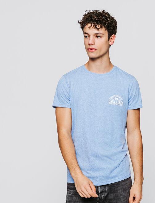 T-shirt print tropical  homme