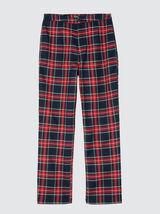 Pantalon city carreaux flanelle