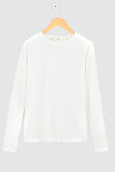 T-shirt uni manches longues