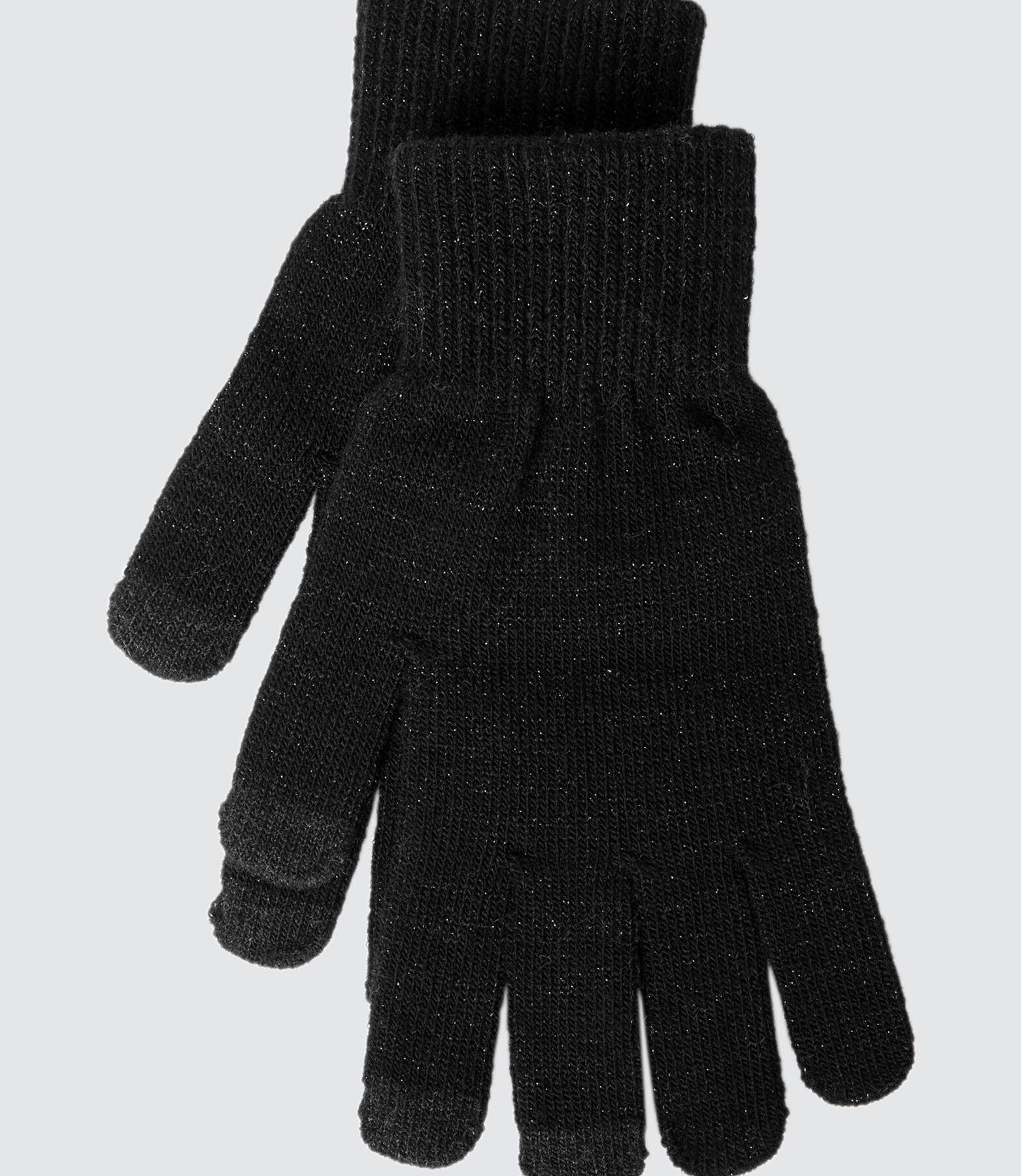 Gants Tricot Lurex Tactiles