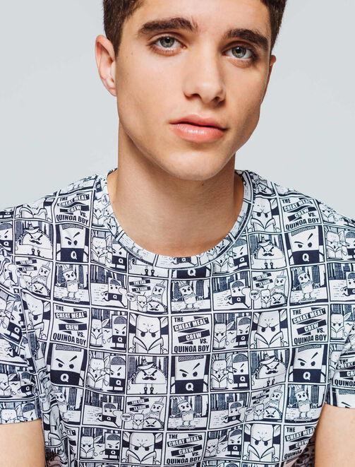 T-shirt imprimé BD homme