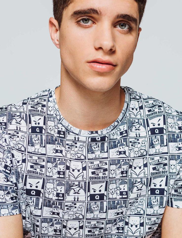 T-shirt imprimé BD