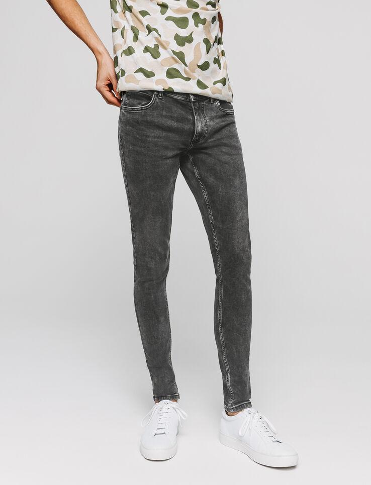Jean ultra skinny gris