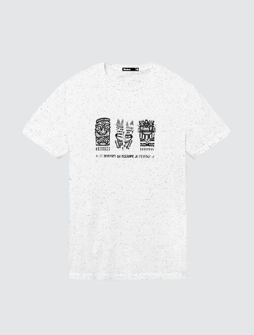 T-shirt print totems homme