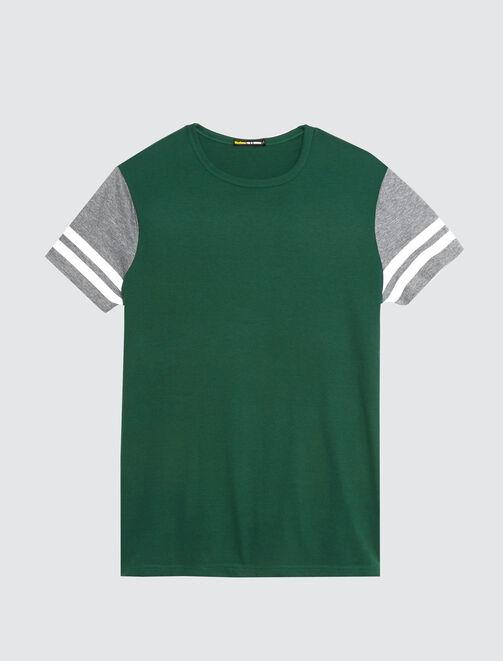 T-shirt uni esprit université homme