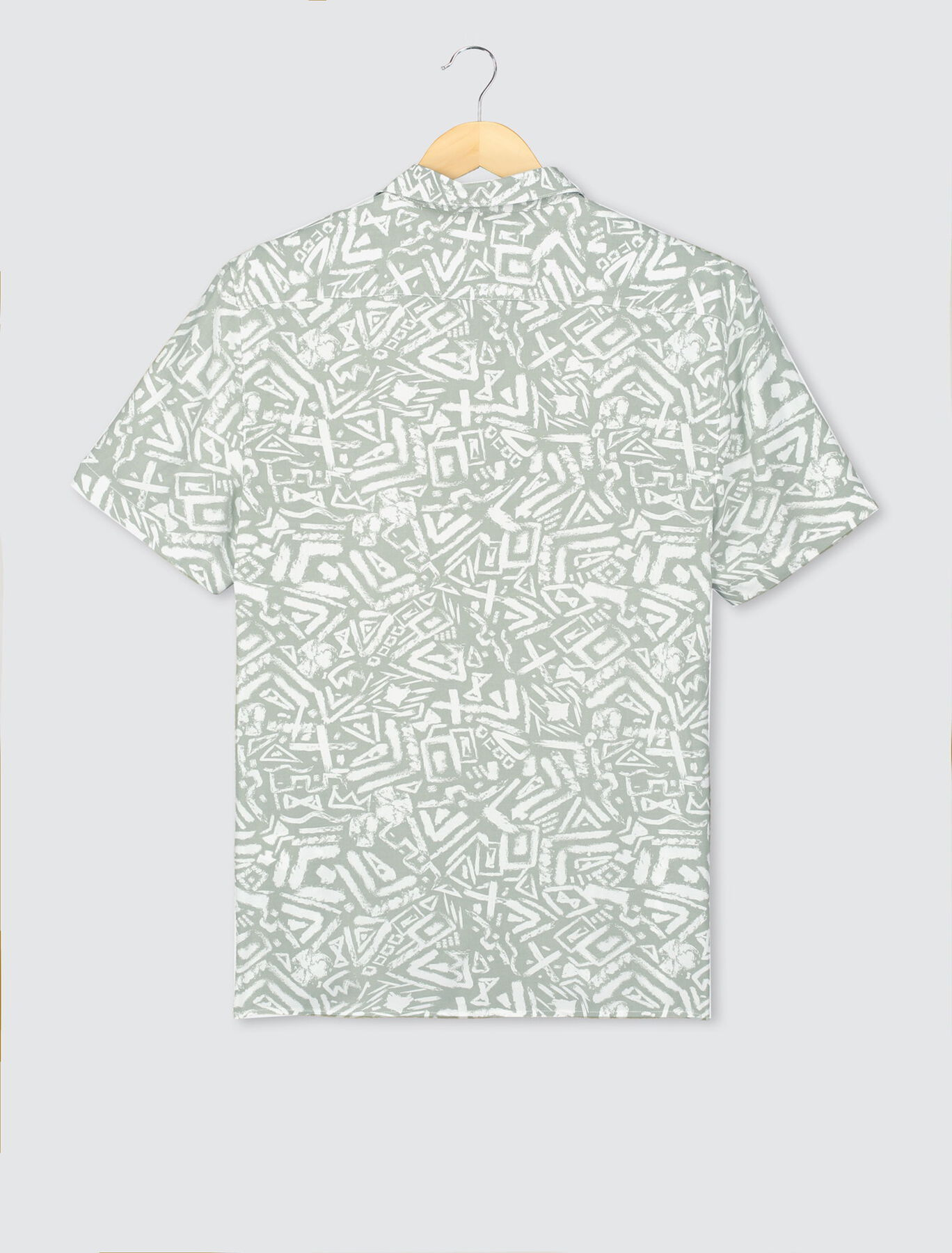 Chemise manches courtes imprimées