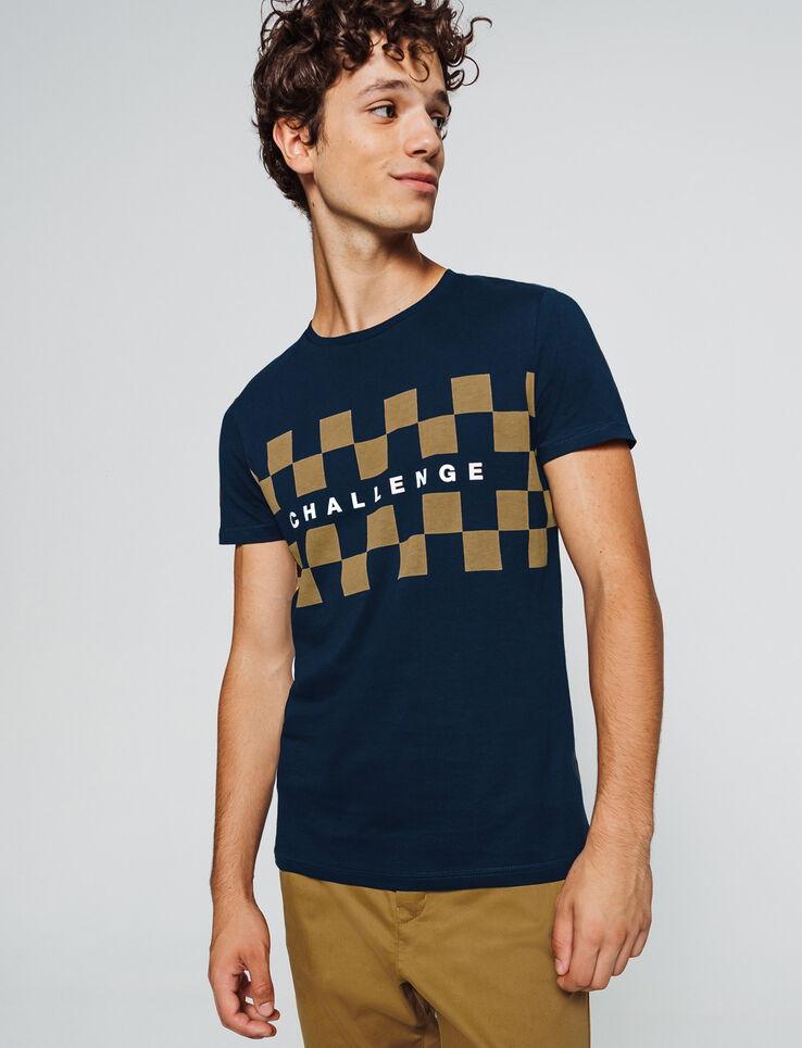 "T-shirt print placé ""Challenge"""