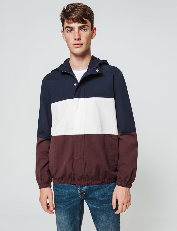 Blouson colorblock
