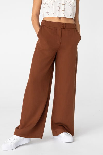 Pantalon Fluide Tencel
