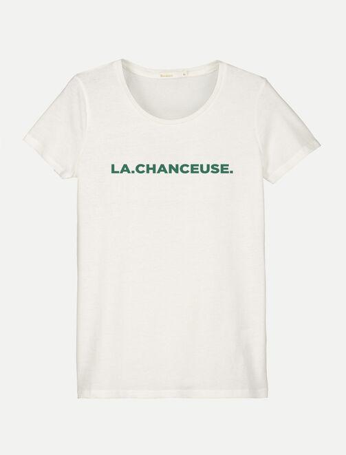 """T-shirt """"LA CHANCEUSE"""" femme"""