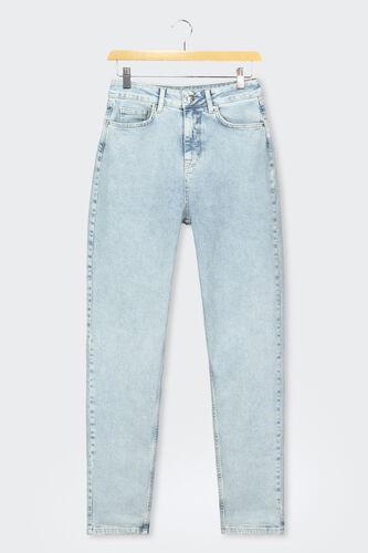 Jean Mom Taille Haute Coton recyclé