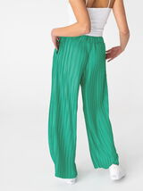Pantalon Plissé Evasé