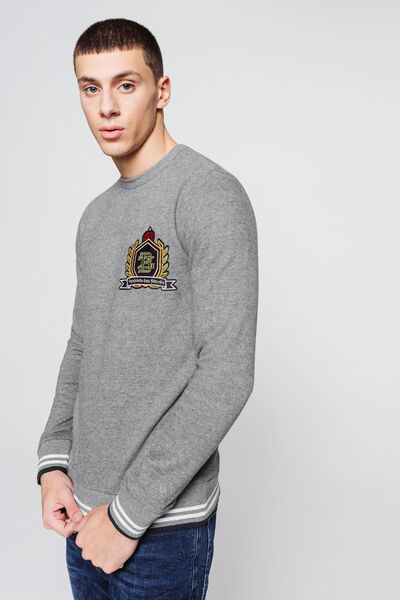 "Sweat brodé ""Confrérie des fêtards"""