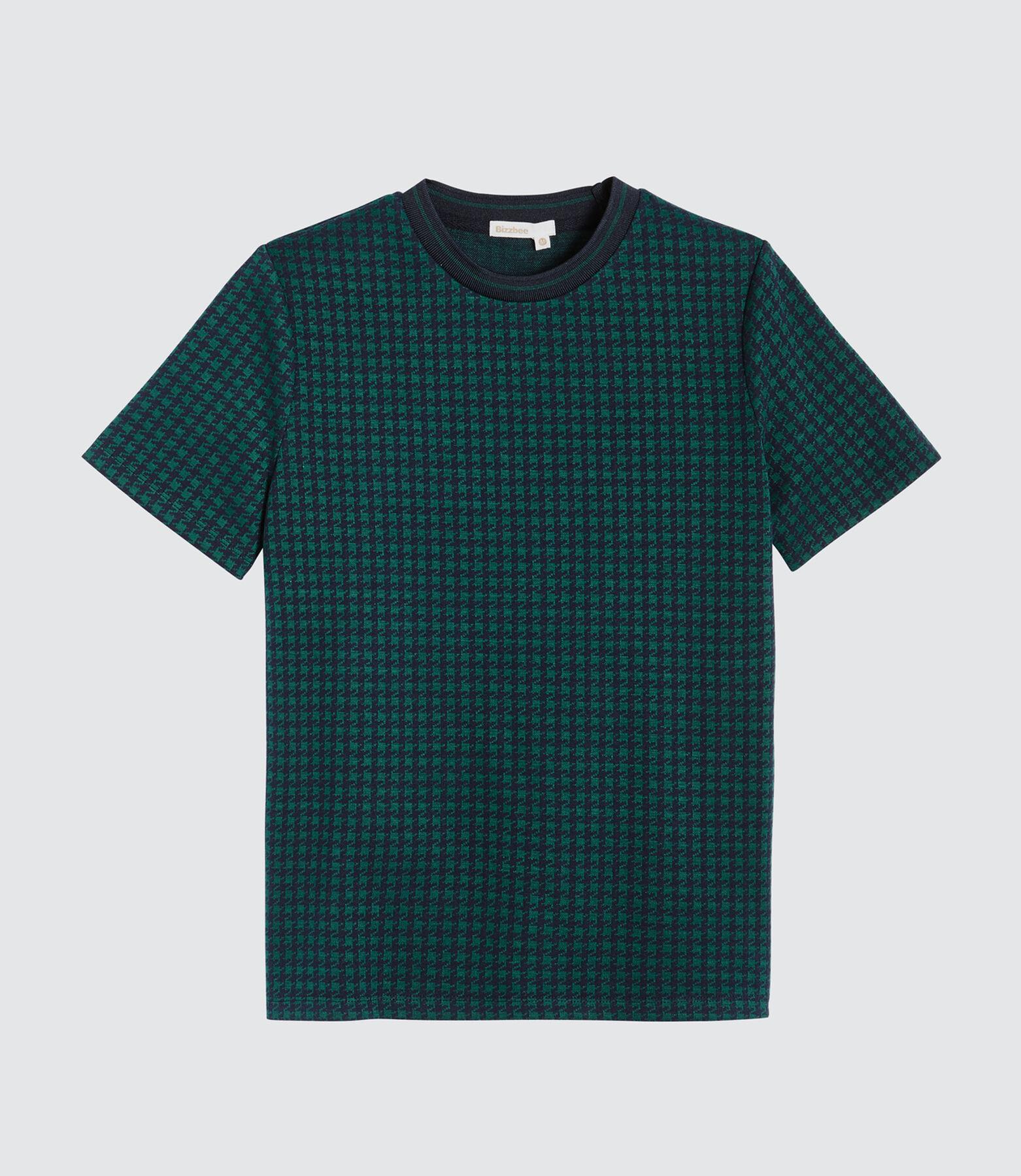 T-shirt pied de poule