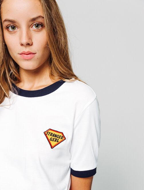 """T-shirt """"Stranger girl"""" femme"""