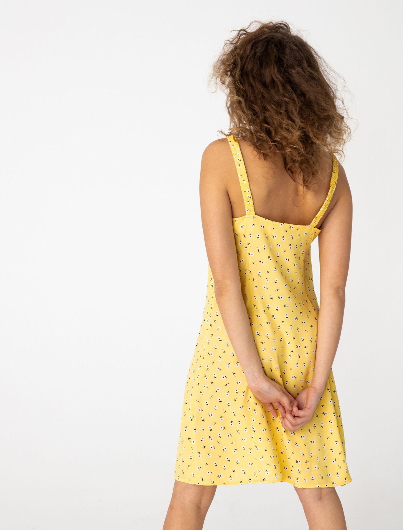 Robe Imprimée Fines Bretelles