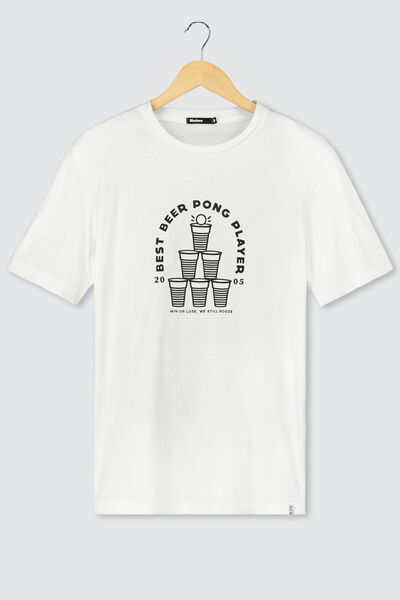 T-shirt humour beer-pong