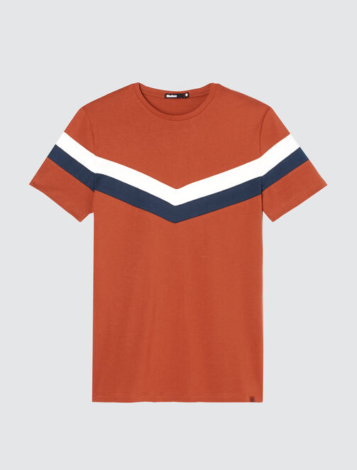 T-shirt colorblock V homme
