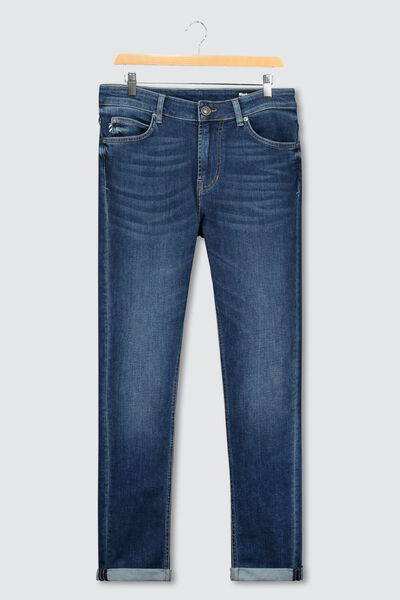 Jean skinny brut used