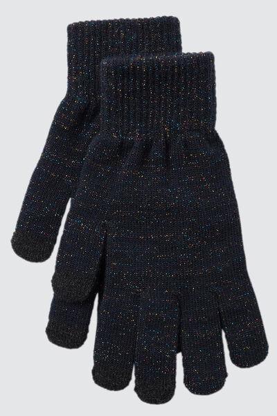 Gants Tricot Lurex Tactiles