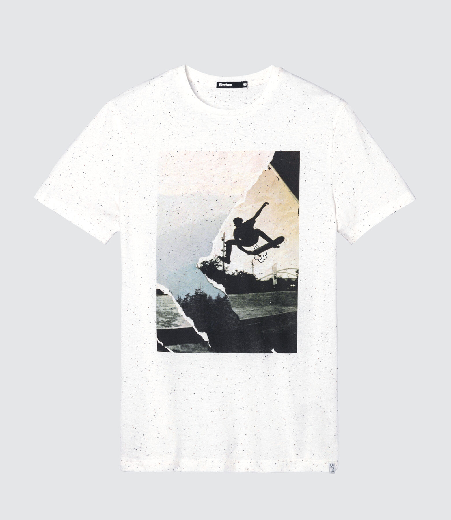 T-shirt neps photoprint skate