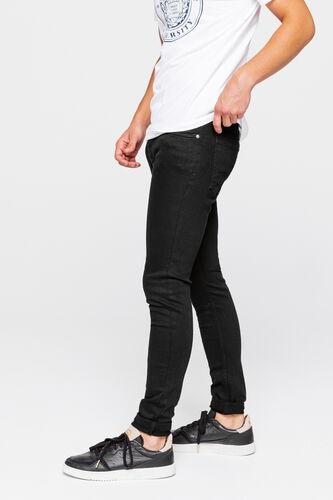 Skinny noir en coton recyclé