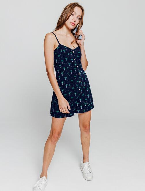 Combi-short imprimée   femme