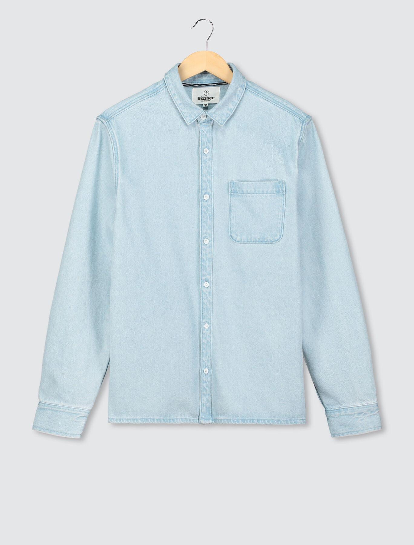 Chemise en jean en coton recyclé