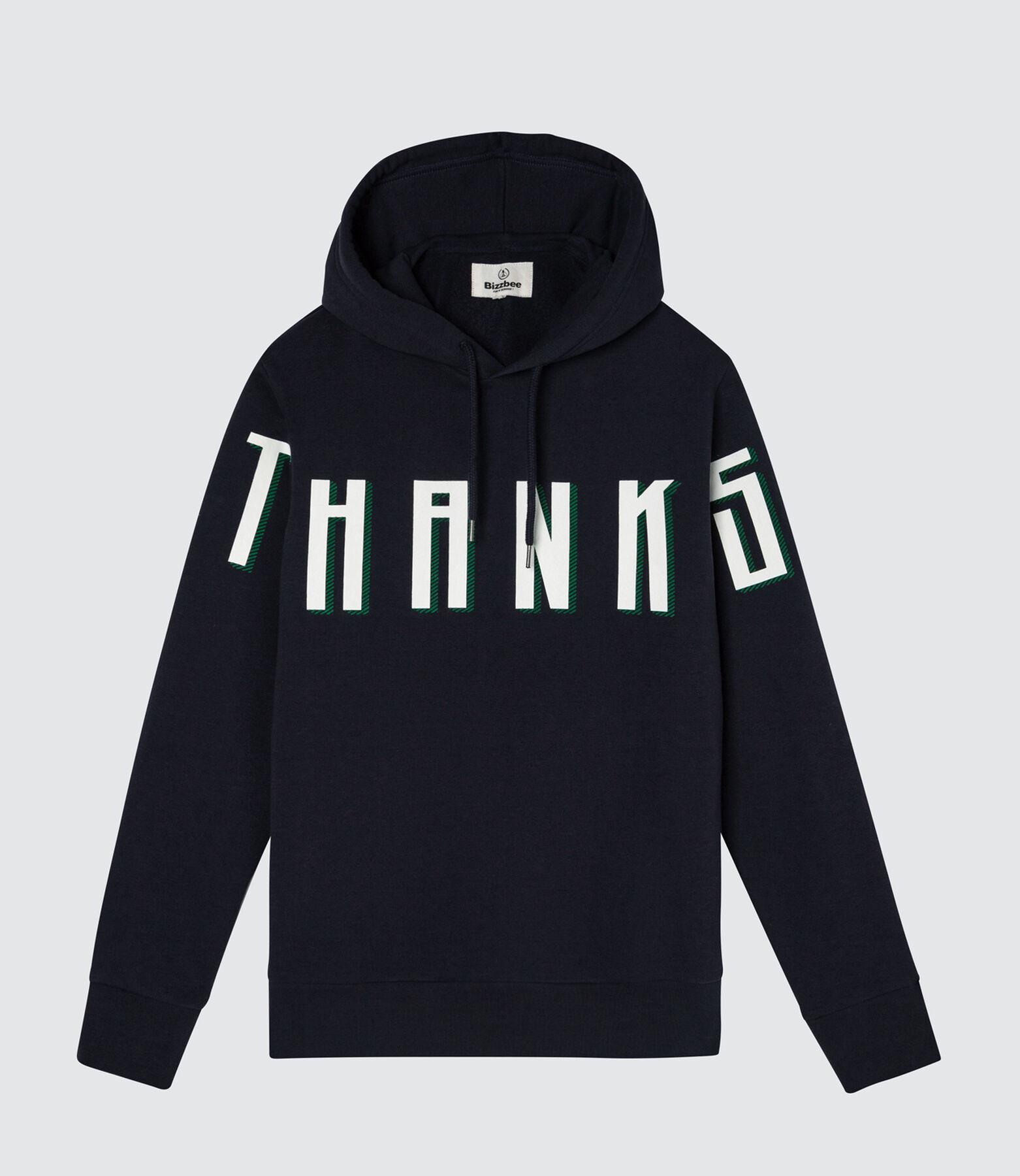 "Sweat enfilé message ""THANKS"""