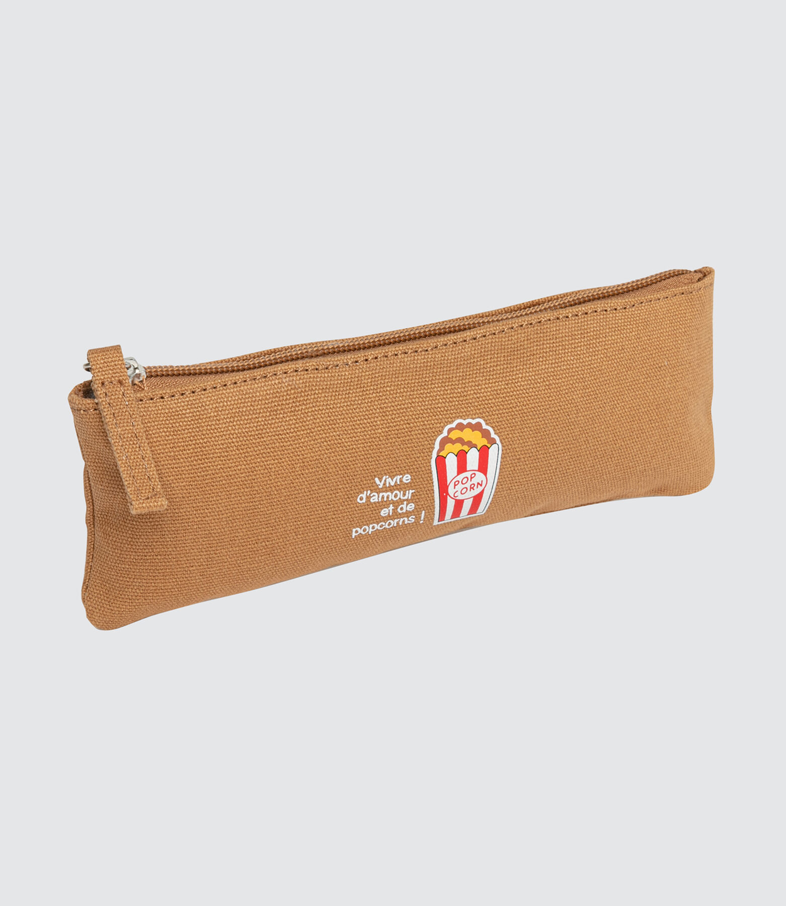 Trousse Brodée Pop Corn