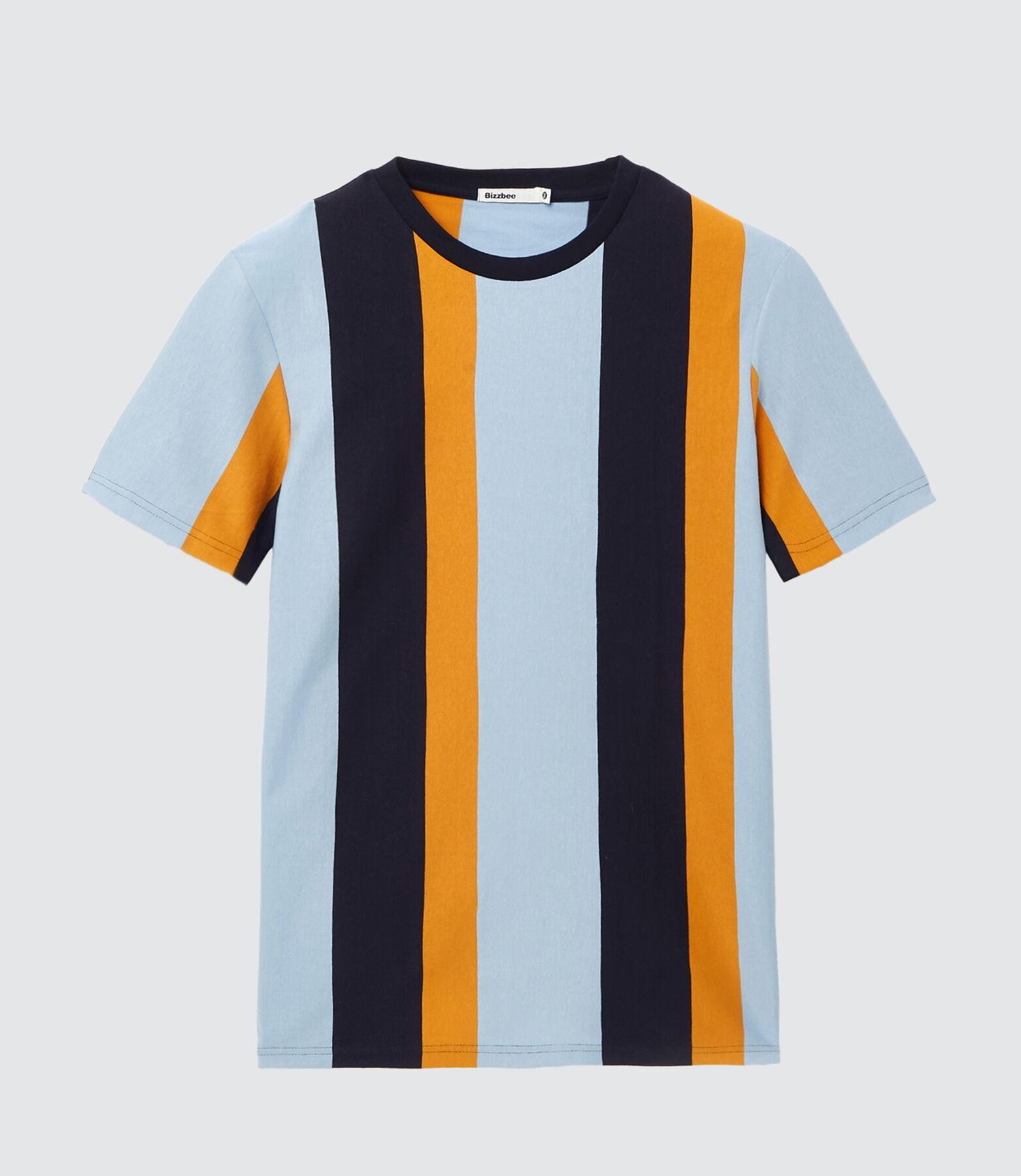 T-shirt tradi à rayures maxi