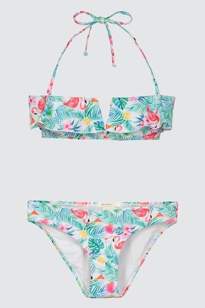 Bikini Imprimé Tropical