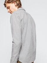 Chemise moulinée chevron