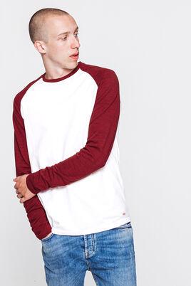T-shirt raglan manches longues piquées