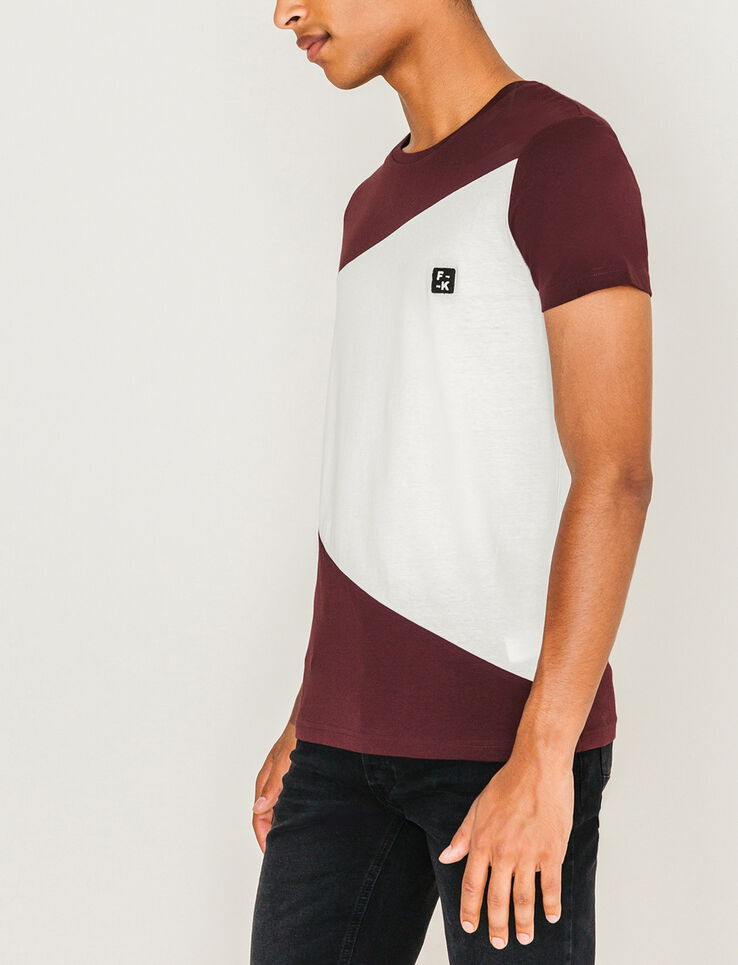 T-shirt néo color-block