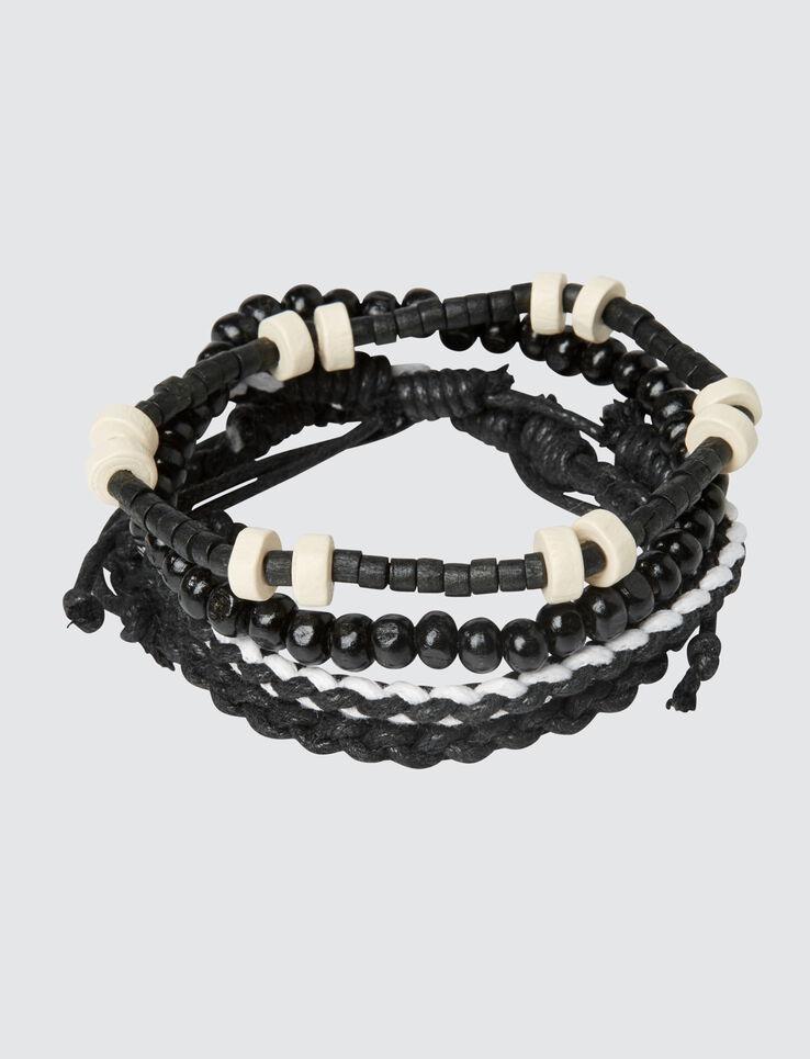 Set de Bracelets Noir