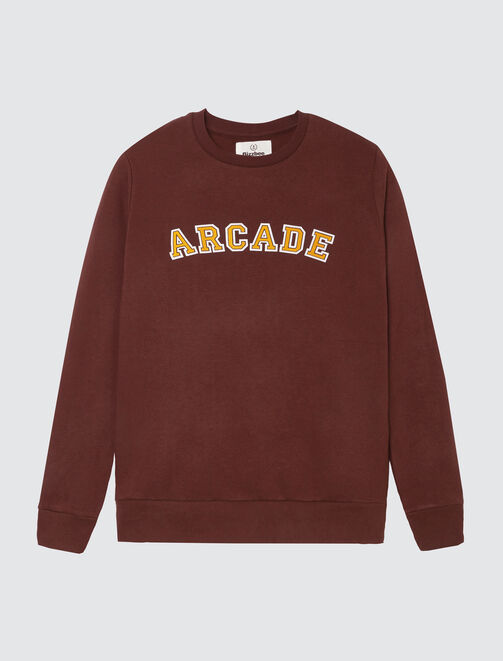 "Sweat message ""Arcade"" homme"