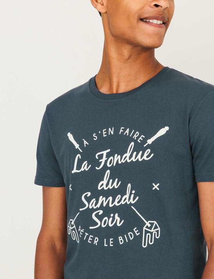 """T-shirt """"La fondue du samedi soir"""""""