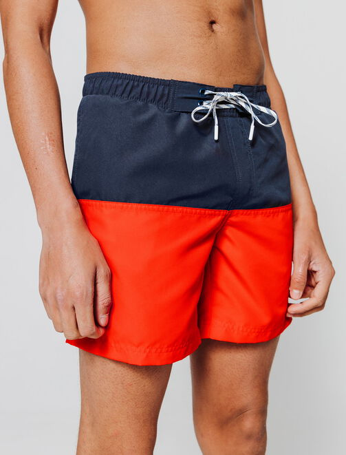 Short de Bain Colorblock homme