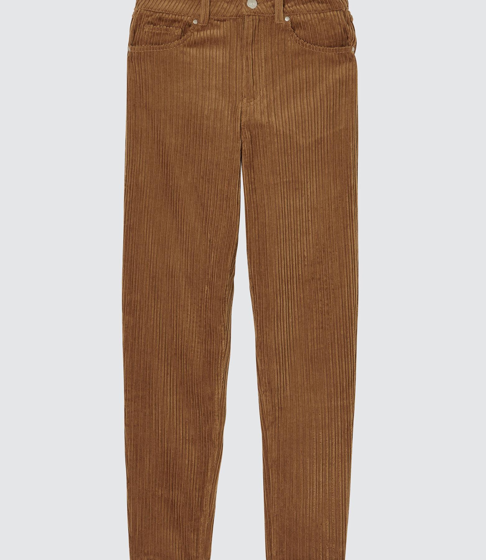 Pantalon MOM  velours souple