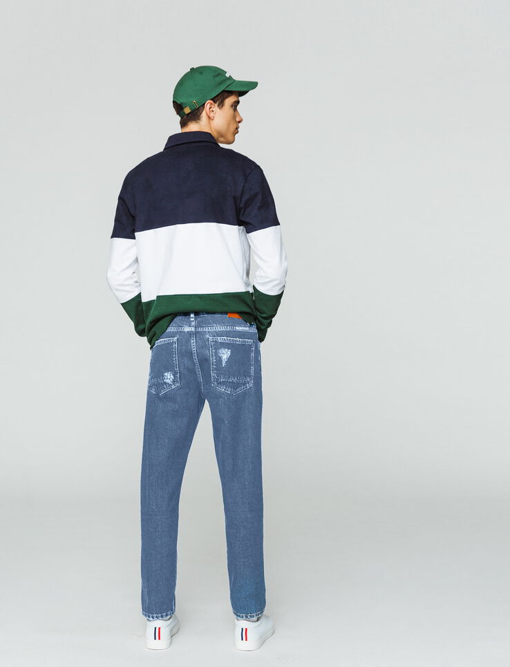Jean straight tapered