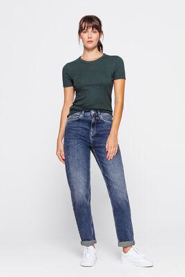 Jean recyclé Mom Taille Haute