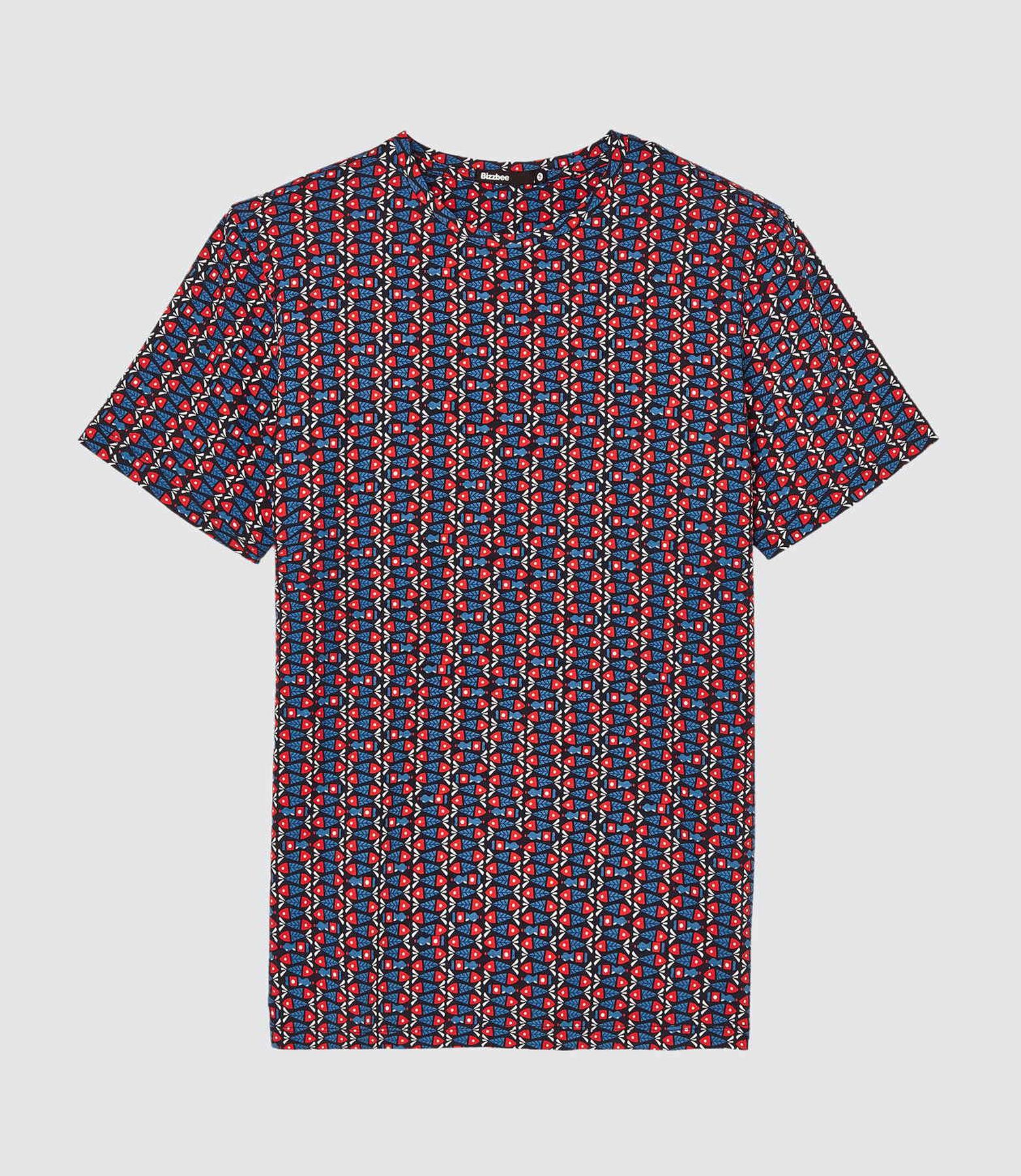 T-shirt imprimé en coton issu de l'agriculture bio