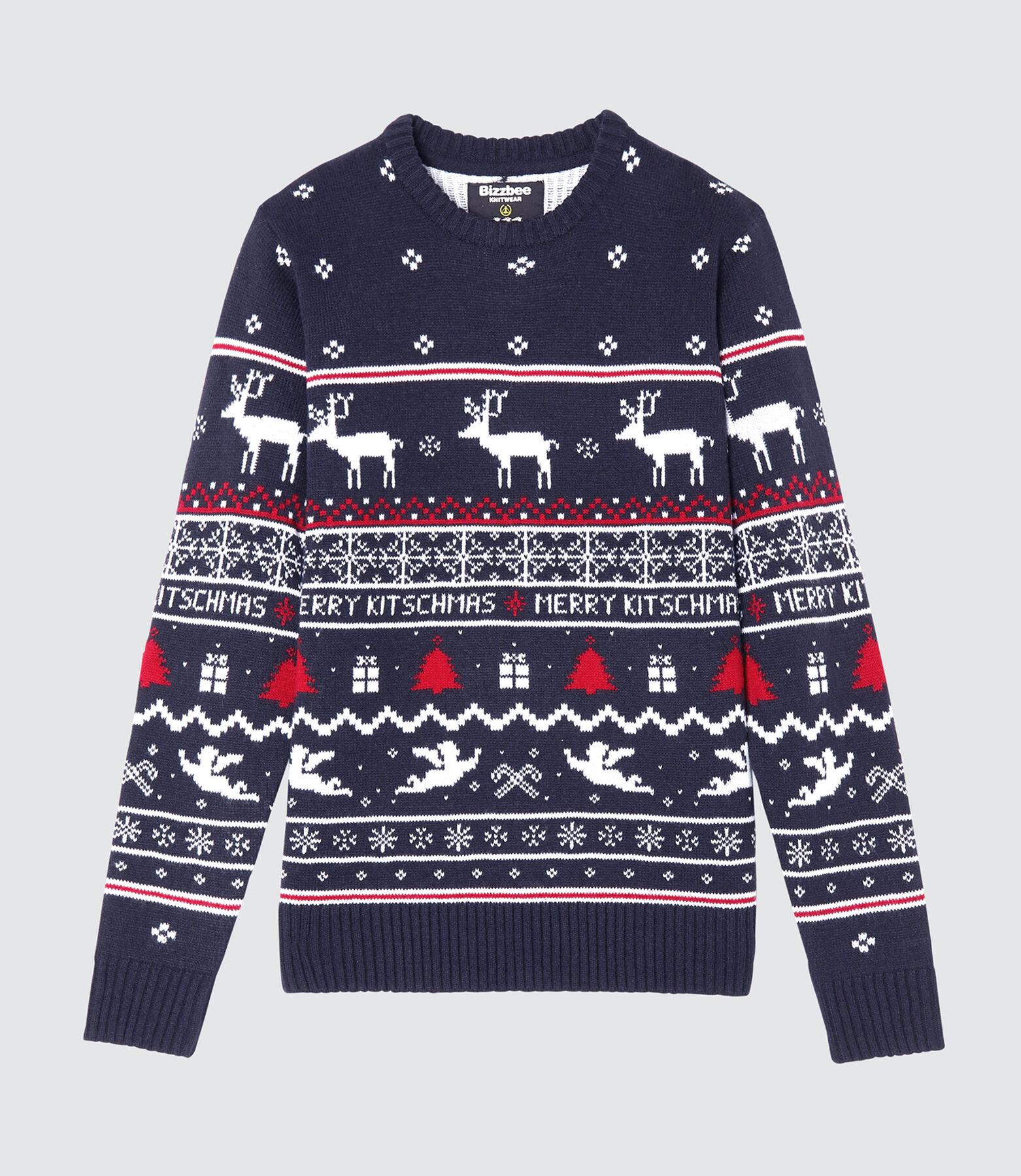 Pull KITSCH  AOP Noël