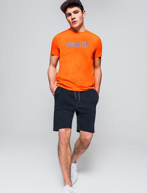 Short en molleton basique homme