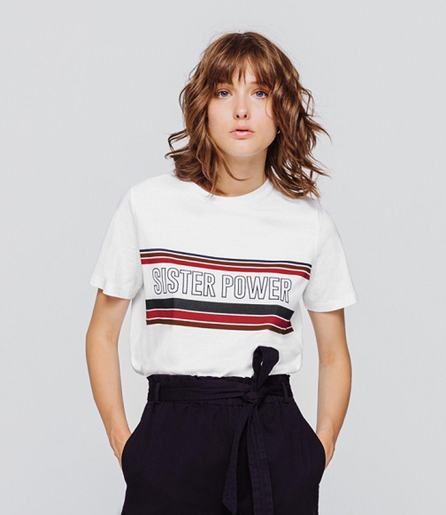 "T-shirt "" sister power"""