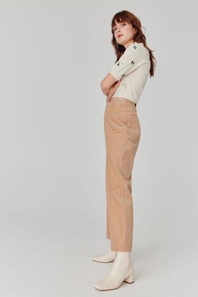 Pantalon Velours Large